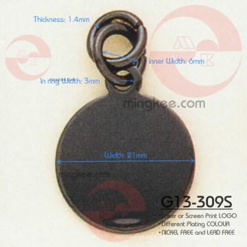Schieber / Abzieher mit kreisförmigem und rundem Reißverschluss (G13-309S)