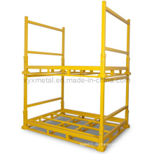 Zusammenklappbare Warehouse Faltbare Metalllagerung Stacked Stillages
