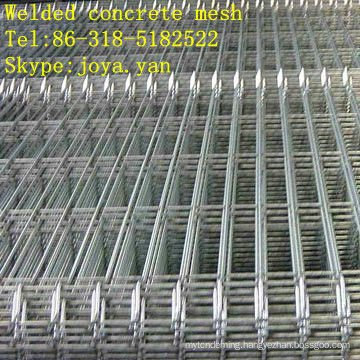 Welded concrete mesh