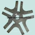 Piezas de maquinaria agrícola forjadas de acero de mecanizado CNC
