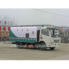 Top Favorito Dongfeng Mini caminhão varrendo estrada