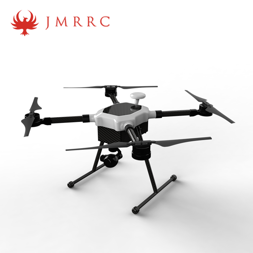 Jmrrc Hx 850 Industry Application Uav Drone Frame Kit With Straight Arm Pipe 4 Axis Carbon Frame Body W Landing Skid Drone Item