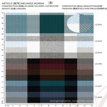 100% cotton fabric cloth material fabric men's shirt fabric