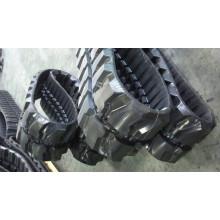Riel de goma para silla de ruedas pequeña para máquinas de vehículos