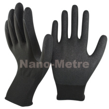 Nmsafety 13G Guante de trabajo Nitrile de nylon antiadherente recubierto de nylon
