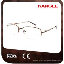 Günstige wirtschaftliche Grundlinie Metall optische Rahmen / Metall Brillen für die Dame