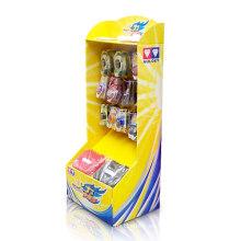 Exhibición de la tarjeta de la impresión de Cmyk con los ganchos para los juguetes