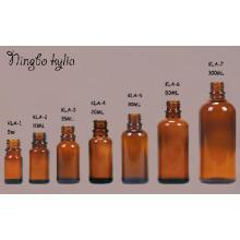 5 ml 10 ml 20 ml 50 ml 100 ml Glas Bernstein Ätherisches Öl Leere Flasche (klc-5)