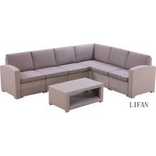 gros meubles de jardin en rotin de bonne qualité canapé en osier