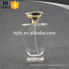 Großhandel klare Parfümflasche 100 ml Glas