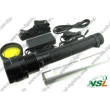 Xenon HID Taschenlampe 85W 6600mAh wiederaufladbare Taschenlampe