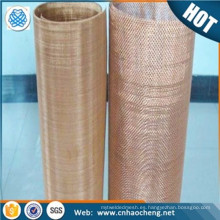 250 300 pantalla de filtro de rejilla de bronce de bronce fosforado para el filtrado de malla