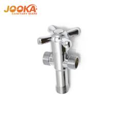 Top China supplier 3 way hot cold water mixer angle valve