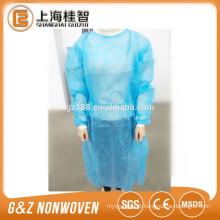 Spunbond não tecido roupas médicas disposabale vestido cirúrgico