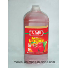 3250g Canned Tomato Ketchup in Plastic Bottle