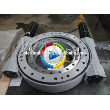 ISO approved sun tracker slew drive for solar tracker 2 axis solar tracker