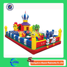 Boa qualidade 0,55 PVC Inflável Gigante Saltando Castelo Inflável Fun City For Kids