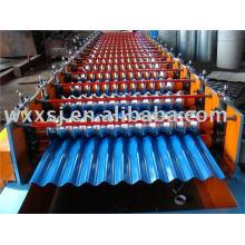 machine de fabrication de panneau de tôle ondulée