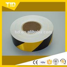 black yellow, arrow reflective Tape