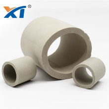 Chemical Packing Raschig Ring Ceramic Dehydration For Scrubber Tower