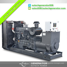 Reliable quality soundproof 625kva/500kw Shangchai electric generator made in China