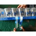 Высокий Quanlity Хороший Кубок стекла Установить Decal Water Cup Kb-Hn08167