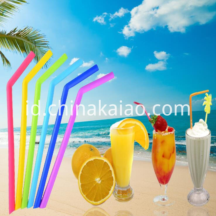 Rainbow Color Straw