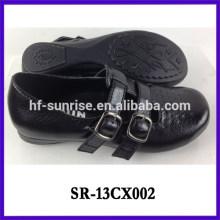 Los nuevos zapatos al por mayor de la escuela calzan los zapatos de la escuela de las muchachas de los zapatos de la escuela de las muchachas