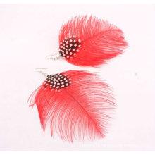 Cheap Fashion Natural Feather Earrings FEA14