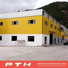 Salão de exposição de estrutura de aço pré-fabricado projetado profissionalmente