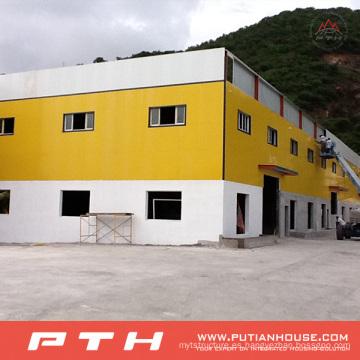 2015 almacén prefabricado de acero de bajo costo de la alta calidad de Pth
