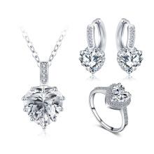 Ensembles de bijoux en forme de coeur pour les femmes (CST0033-B)