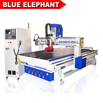 Высокая скорость 3D Высекая маршрутизатор CNC древесины Гравировальный станок 1325 от голубой слон