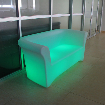 LED Bar Sofa Plastic Retro Style RGB Kleur