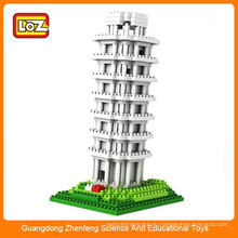 LOZ Архитектура серии интеллектуальных пластиковых крупных строительных блоков множество