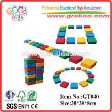 Amusement Park Equipment Plastic Kids Hollow Blocks