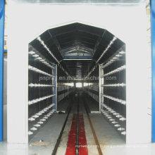 Ligne complète de production de peinture avec la chambre froide de refroidissement