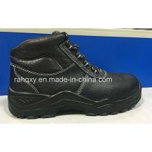 Cuir doublure des chaussures de sécurité (HQ16019)