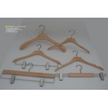 Preço do competidor Hotsale cabide de madeira preço de disconto