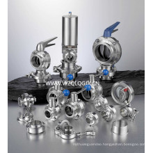 Hygienic Stainless Steel Pipe Fitting and Valves
