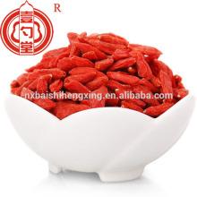 Goji fruits fruits secs chinois berry goji ingrédients alimentaires utilisés pour le gâteau