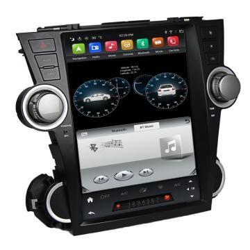 Tesla android head unit pour Toyota Highlander 2008