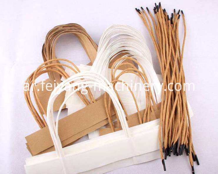 Brown Color Twisted Paper Rope for Toys