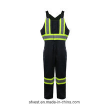 35% coton 65% Polyester High Vis Protect Workwear Safety Wear Coverall
