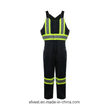 35% Cotton 65% Polyester High Vis Protect Workwear Safety Wear Coverall