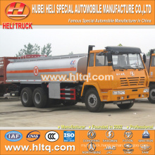 SHACMAN 6x4 290hp 22000L anti-corrosion tanker for sale , china factory supply