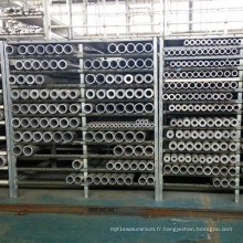 Tube extrudé en aluminium sans couture professionnel