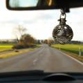 Pendentif diffuseur de voiture sèche d'aromathérapie avec huile essentielle
