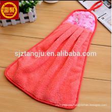 toalla de mano linda, toalla de mano con gancho, toalla de mano colorida