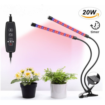 Grow light con pinza 30W regulable
